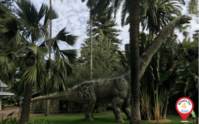 Zoorassic Park is back at the Perth Zoo!