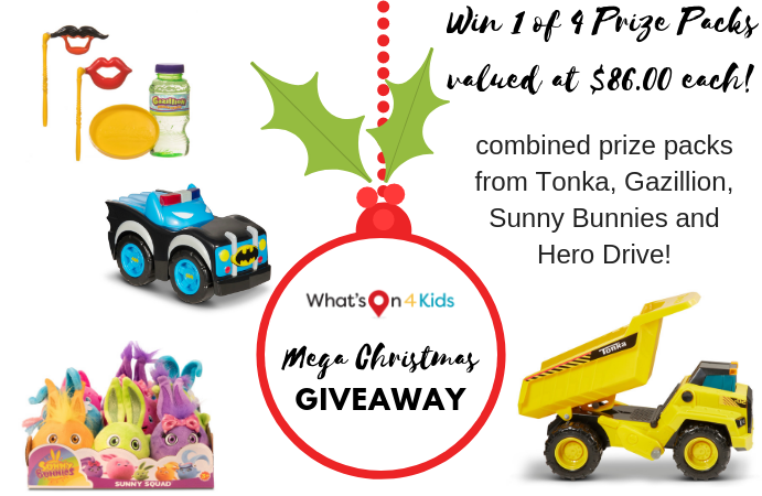 Win 1 of 4 Toy Prize Packs