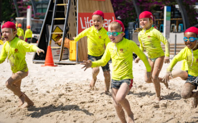 Youngsters Make a Splash for Little Lifesavers Program